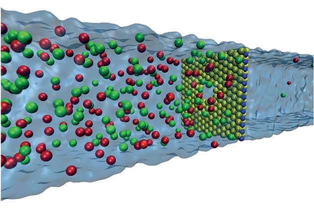 The ultra-thin membrane and its microscopic opening
