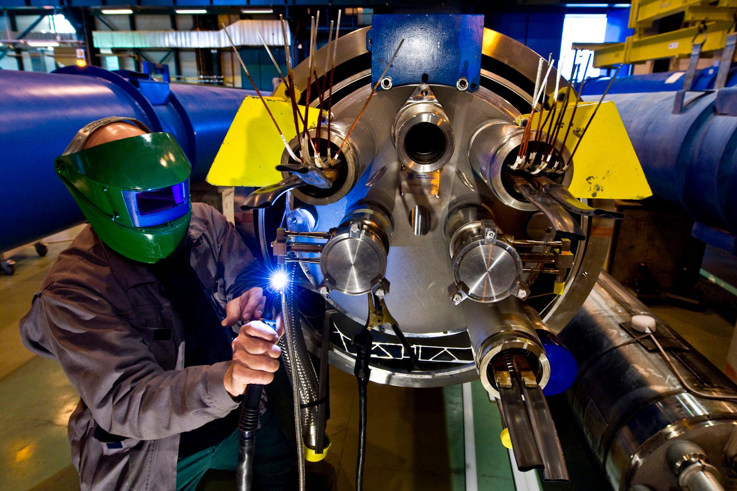 LHC Reawakens, Sending Proton Beams Running at the Speed of Light