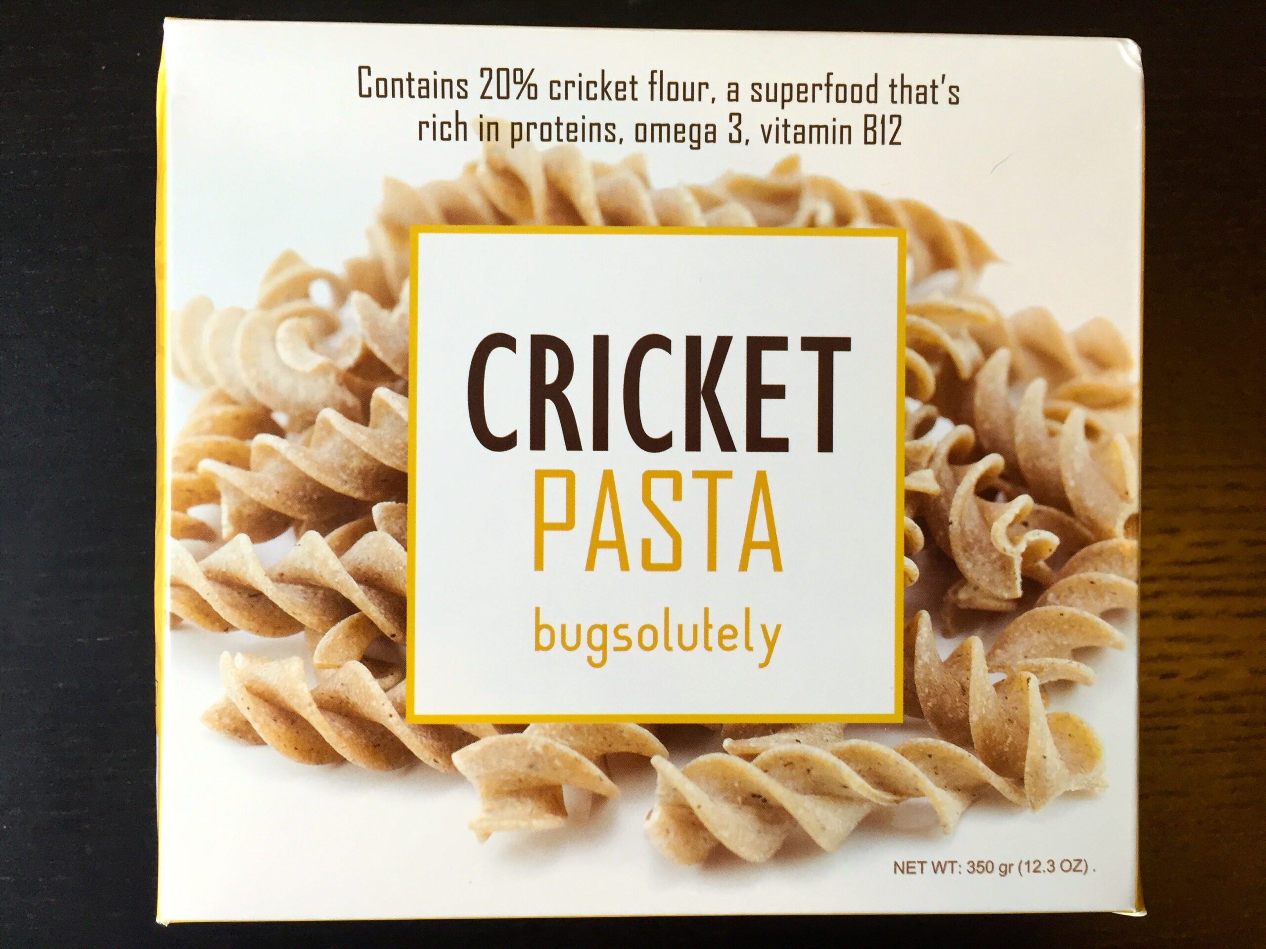 We Ate Pasta Made Out Of Crickets