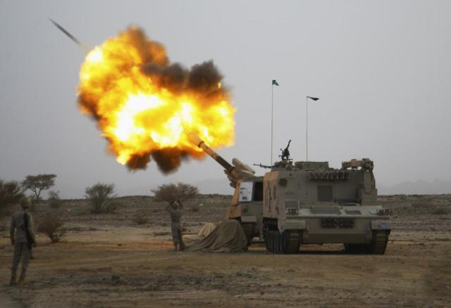 Saudis Use Chinese-made Cannons in Yemen