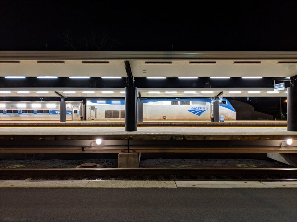 Train station photo
