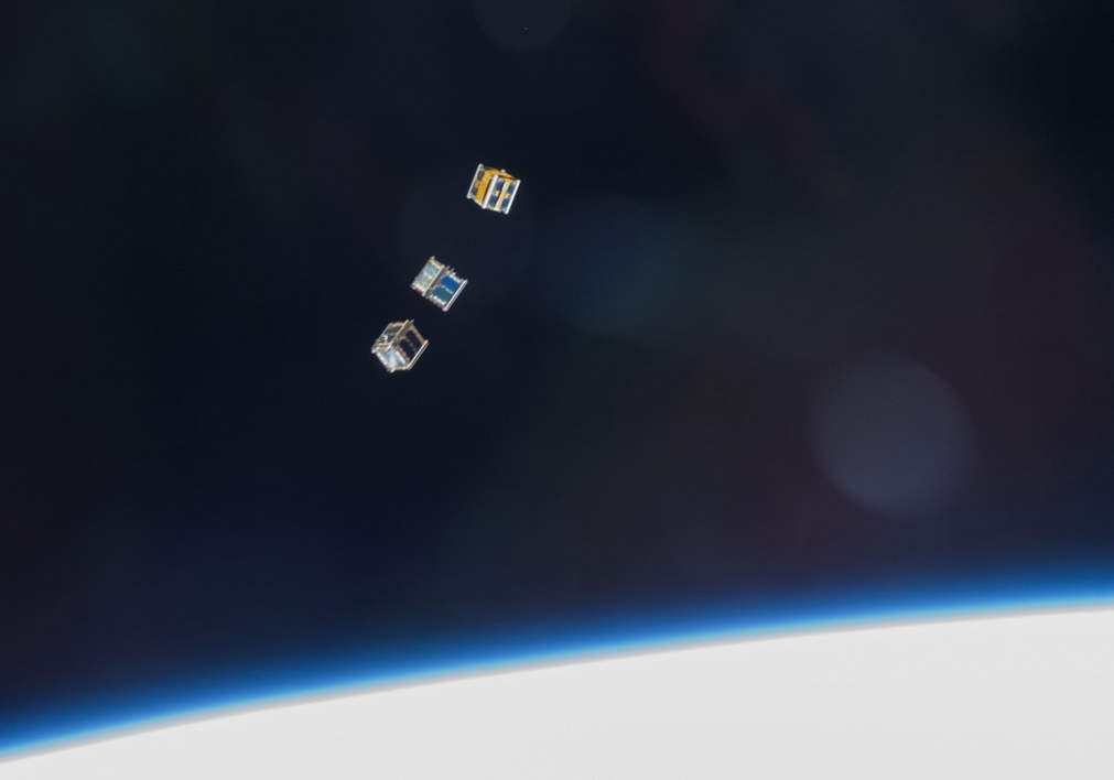 Aw, Look At These Cute Miniature Satellites Being Launched Into Space