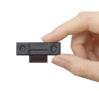 Sharp Unveils 3-D-Shooting Cellphone Camera