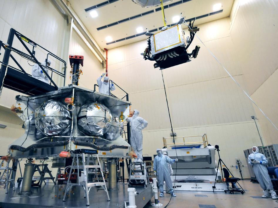 Lowering Junos Radiation Vault