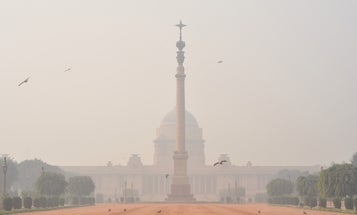 Air pollution in New Delhi is literally off the charts