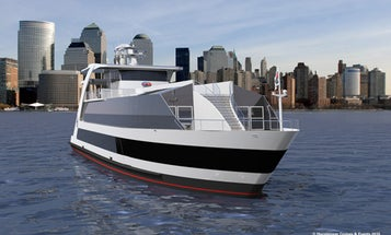 Wind-, Solar-, and Hydrogen-Powered Ferry to Lady Liberty to be Completed in April