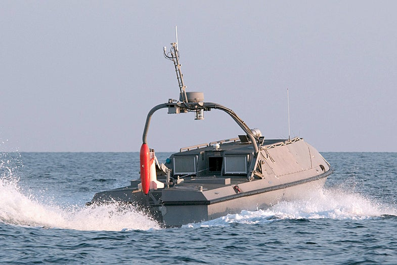Navy Wants A Minesweeping Robot Boat To Protect Their Fragile Ship