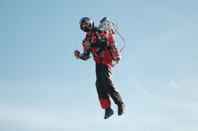 Inventor Injured After Flying Jetpack Without A Helmet