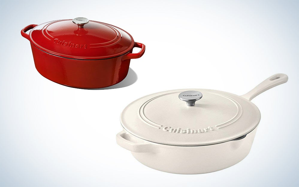 72 percent off Cuisinart cast-iron cookware and other good deals happening today