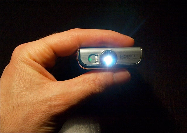 Hands-On with Samsung's Projector-Phone