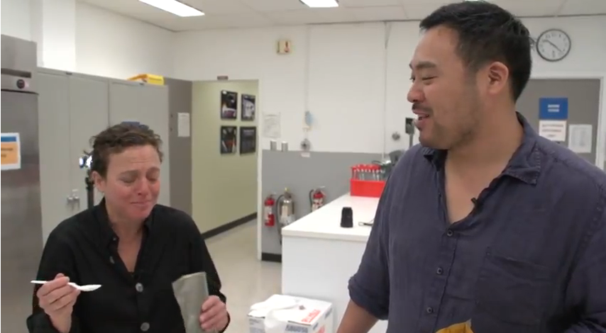 What Chefs David Chang And Traci Des Jardins Think Of Space Food
