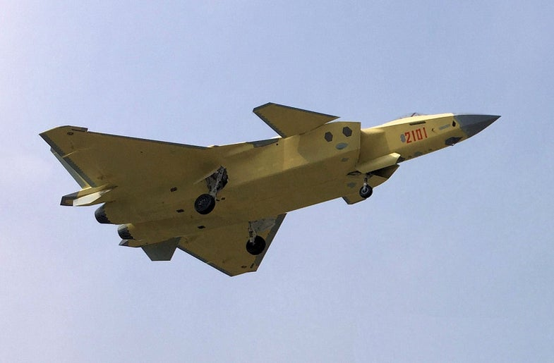 J-20 2101 China Stealth Fighter
