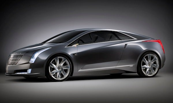 Based on the Chevy Volt, Cadillac's Electric Converj Concept Could See Production