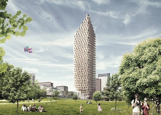 A Plan For The World's Tallest Wood Skyscraper