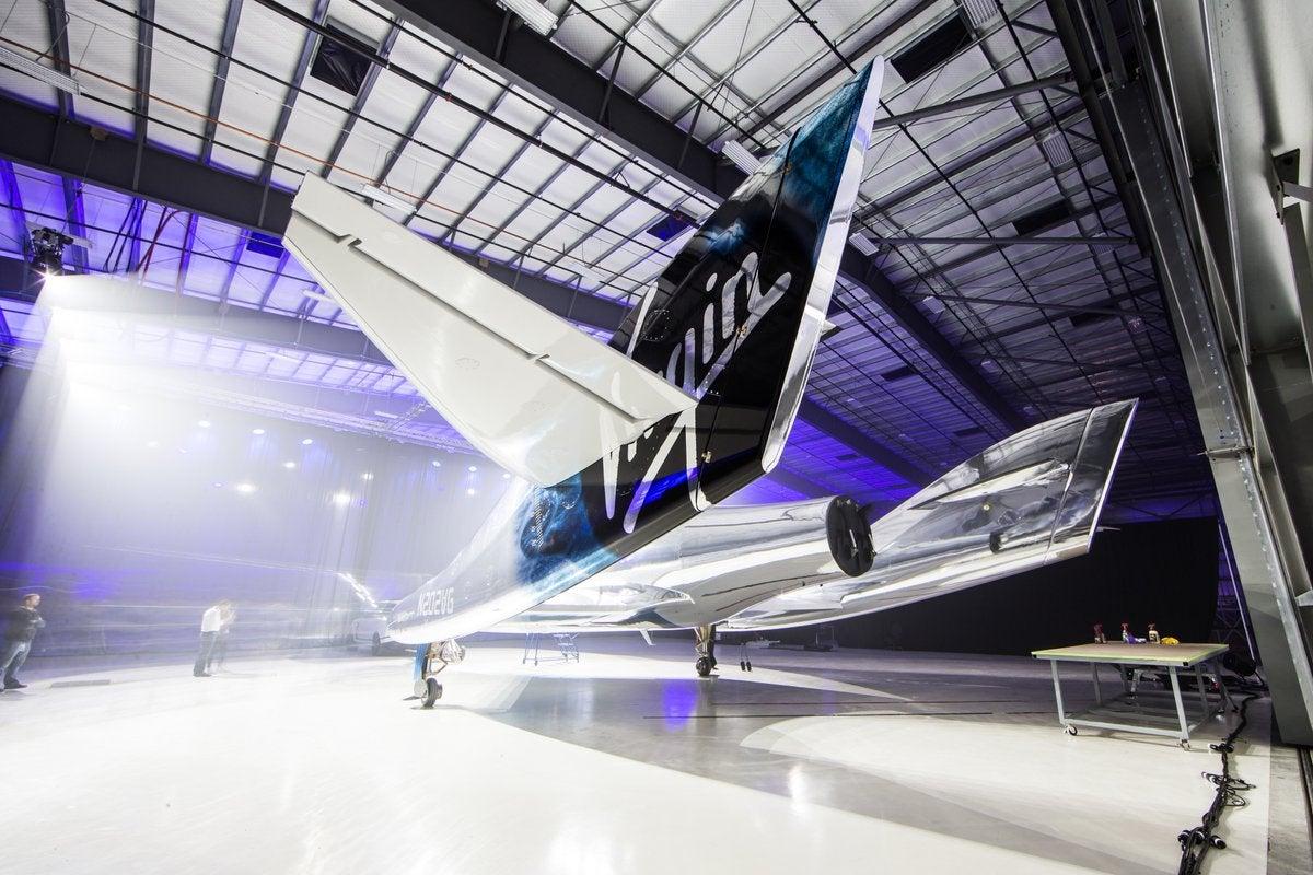 This Is Virgin Galactic's New Spaceplane, VSS Unity