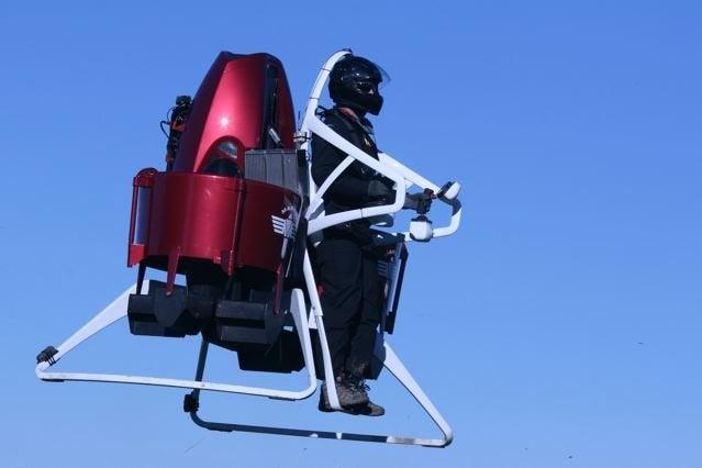 Martin Jetpack In Flight