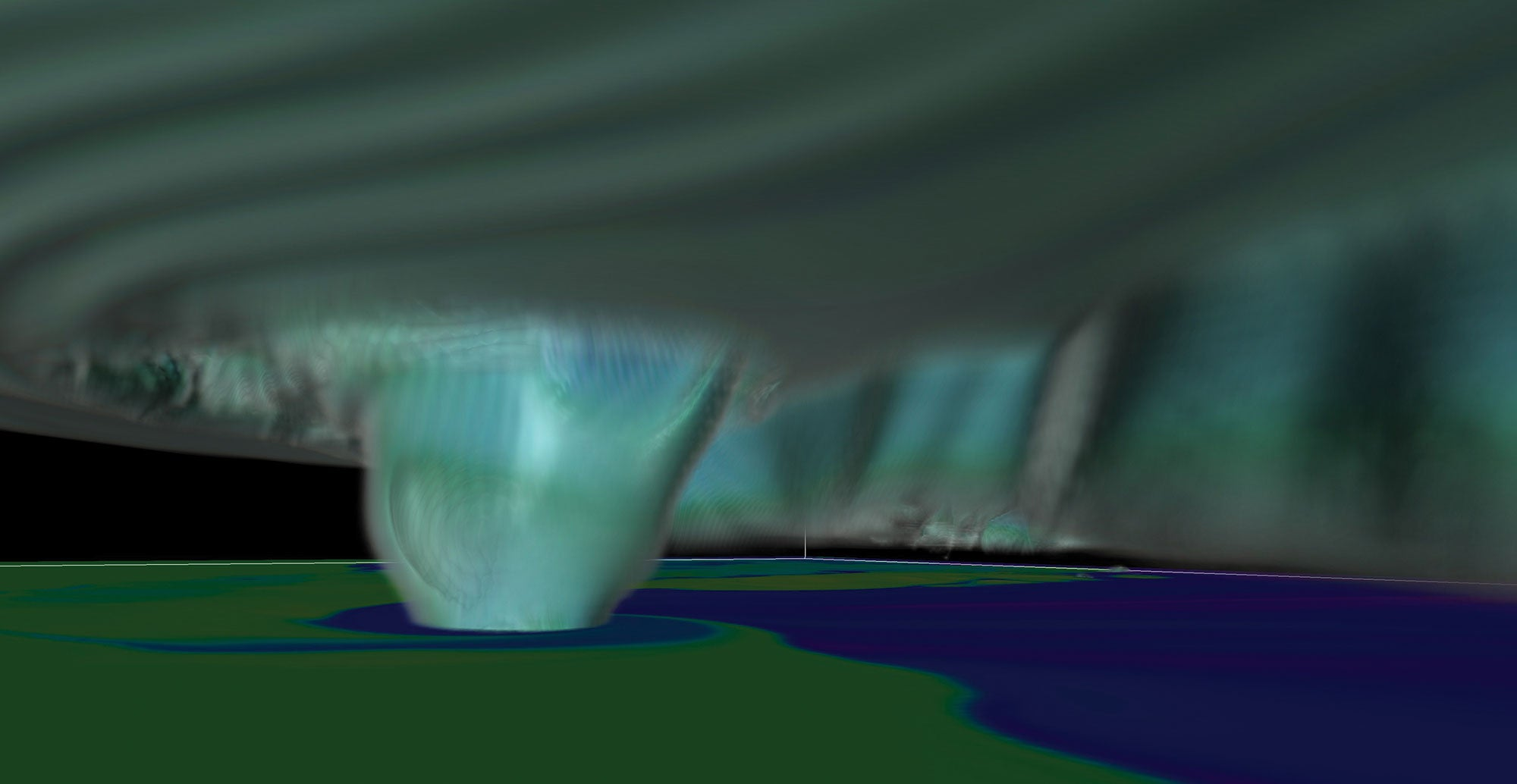 How scientists modeled a deadly tornado with an insanely powerful computer