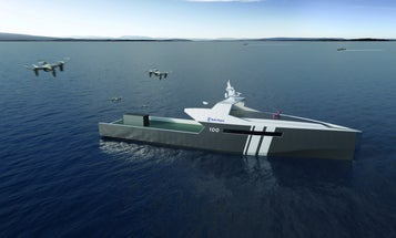 Robot ships from Rolls-Royce (not that one) could run crew-less