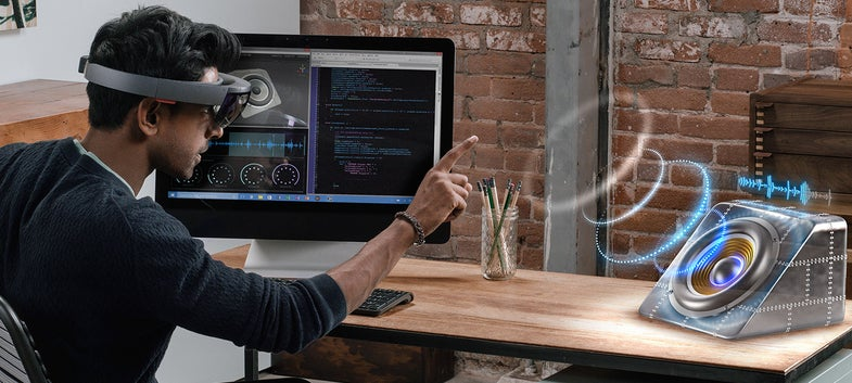 Microsoft Wants To Turn Your PC Into A Hologram Viewer