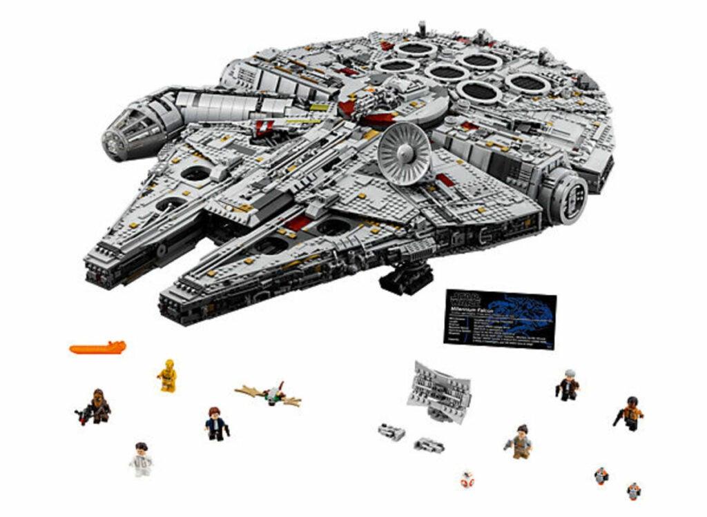 Star Wars Millennium Falcon Legos