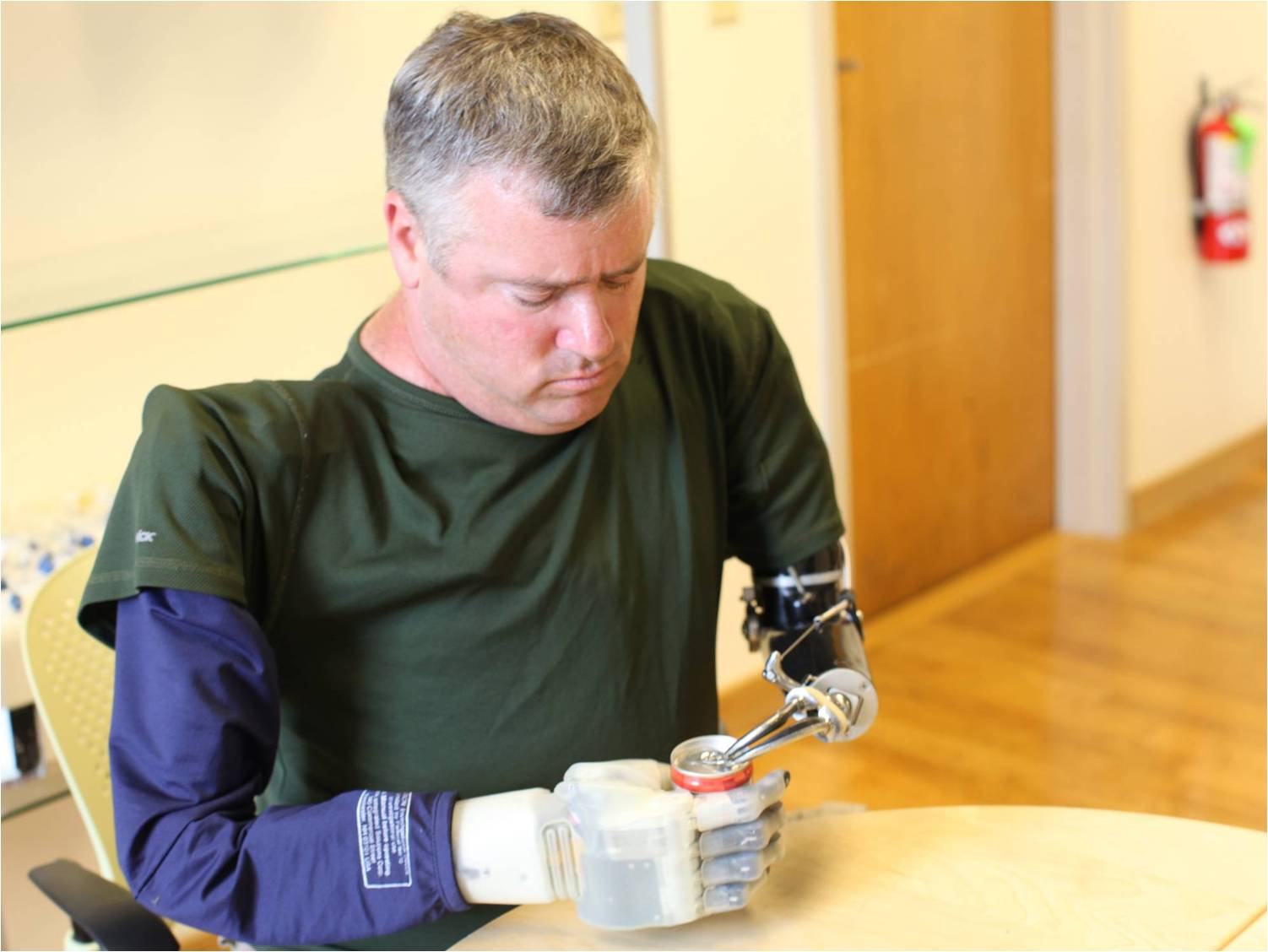 Paralyzed Man Becomes First To 'Feel' With Sophisticated Hand Prosthetic