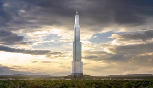 Green Light For Plan To Build World's Tallest Building At Record Speed