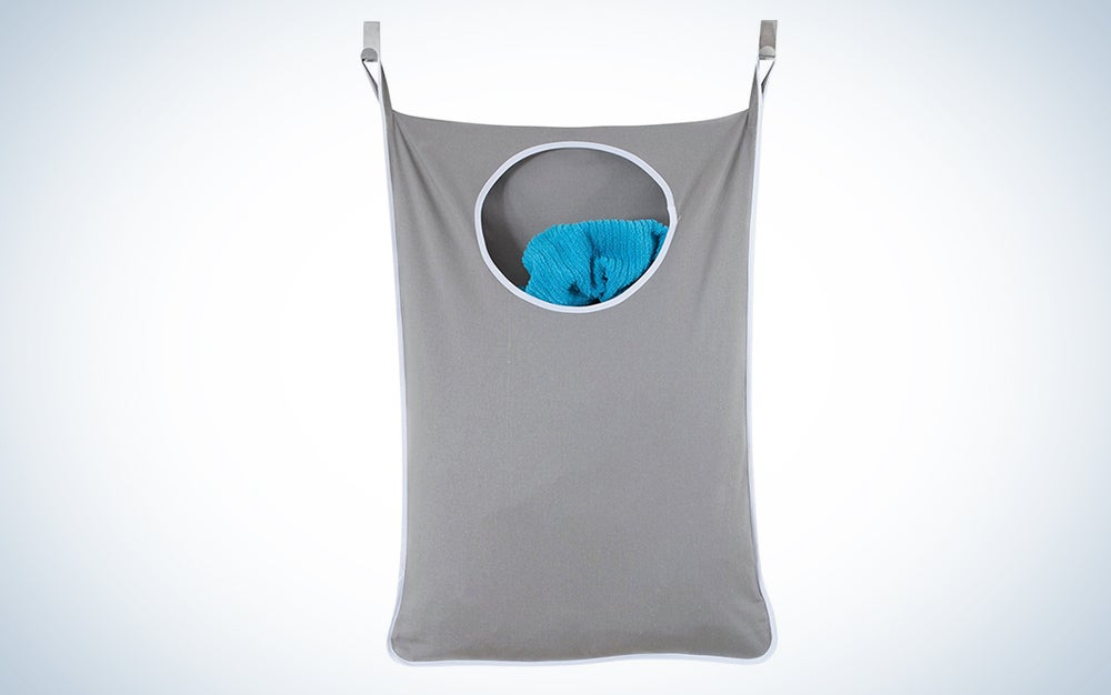 Urban Mom Laundry Nook Door-Hanging Laundry Hamper