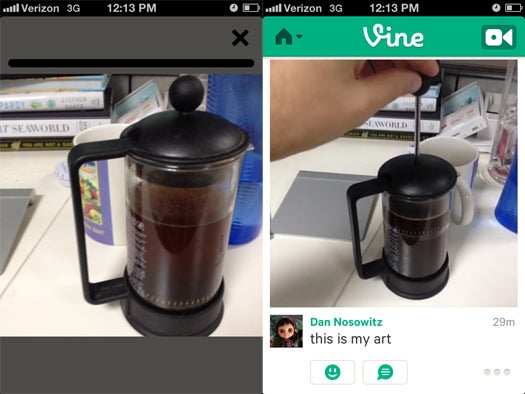 Twitter Launches Vine: It's Like A Live-Editable GIF With Sound