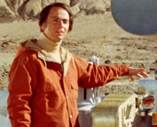 Materials From Carl Sagan's College Courses Now Available Online