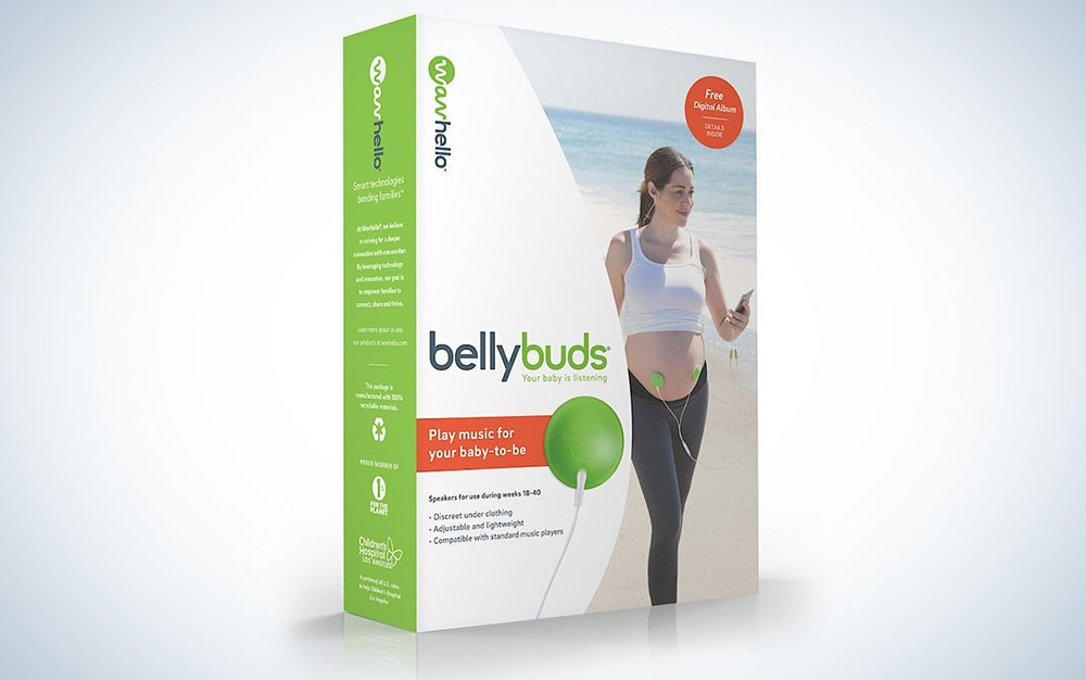 Belly Buds Pregnancy Baby Headphones Sound System
