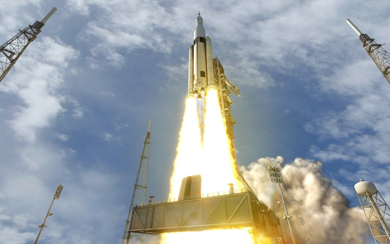 NASA decides not to put astronauts on the first launch of its very delayed new rocket