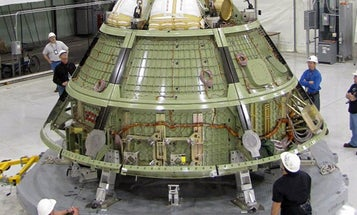 Orion Unveiled: Lockheed Shows Off First Crew Module, New Space Simulation Facility