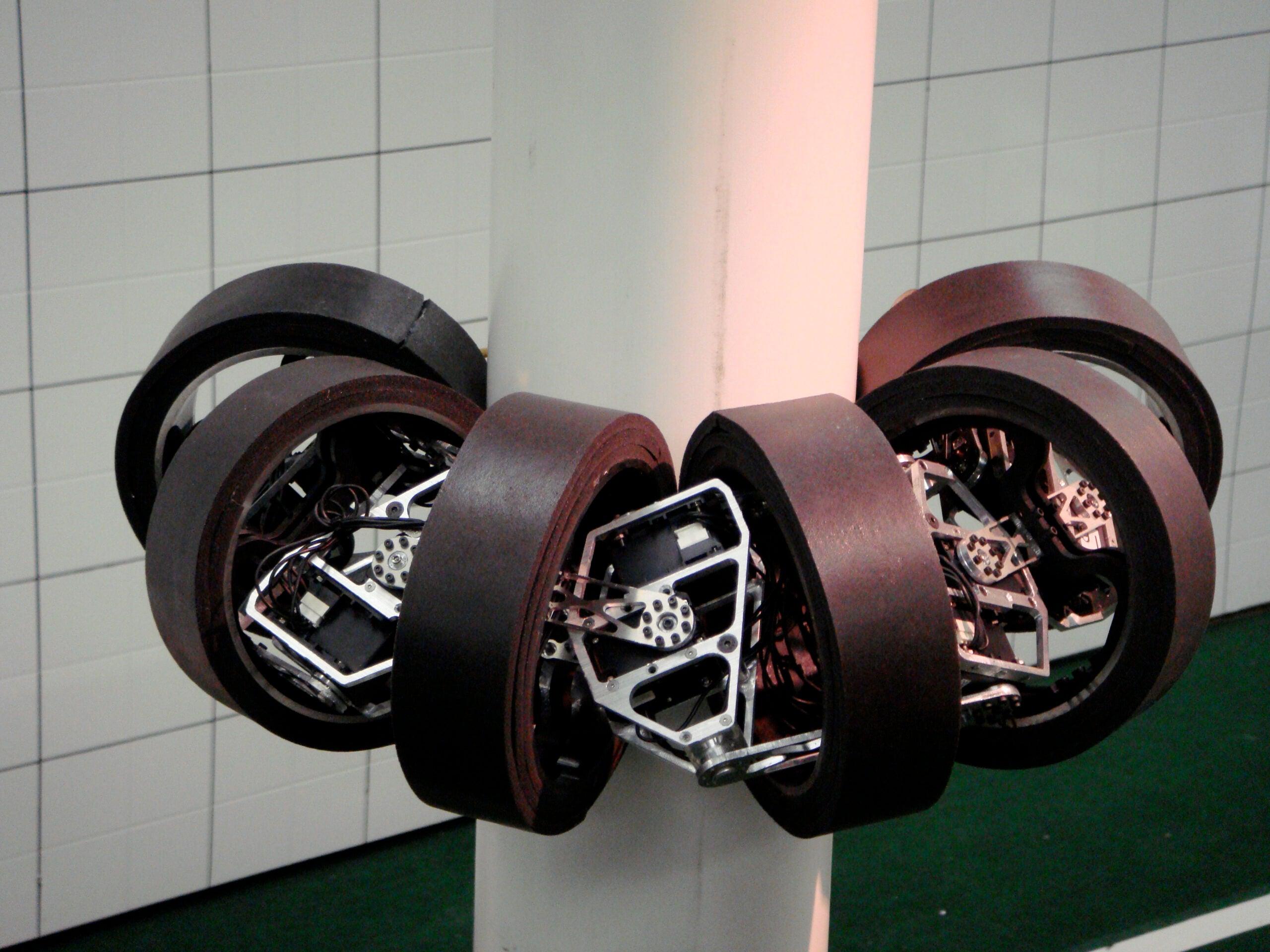 Pole-Dancing Robots