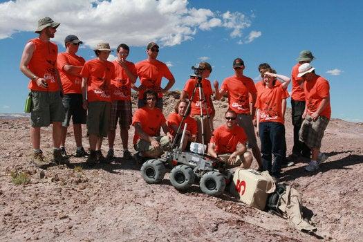 Rover Challenge 2010: University Teams Test Mars Rovers in Utah Desert