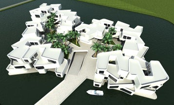 Floating Apartment Complex Takes the Worry Out of Rising Seas