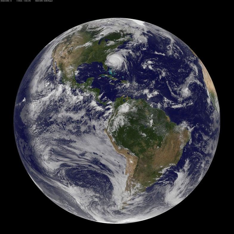 NASA Satellites Watch as Hurricane Irene Bears Down on East Coast