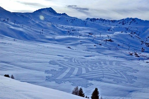 Mathematical Snow Art And Other Amazing Photos From This Week