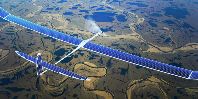 Google's Project SkyBender Is Another Internet-Firing Drone