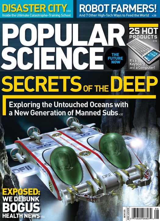 August 2009 Issue: Secrets of the Deep