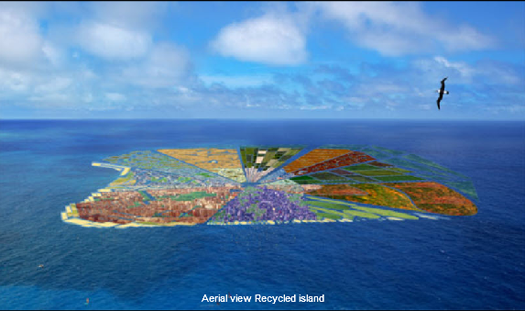 One Man's Giant Pacific Garbage Patch Is Another's Beautiful Island Nation