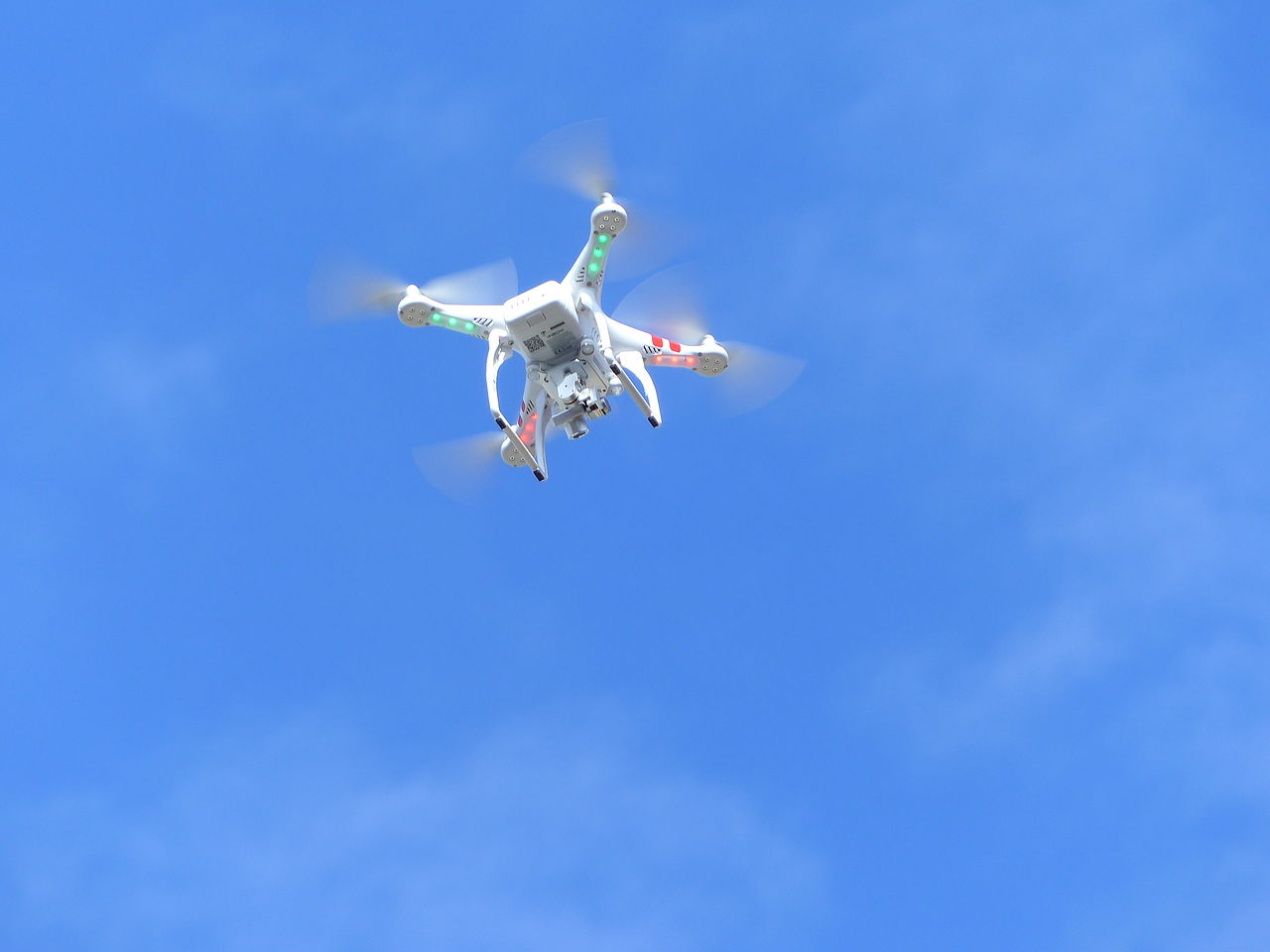 DJI Phantom In Flight