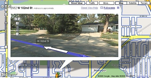 Google Walking Directions: a Privacy Concern?