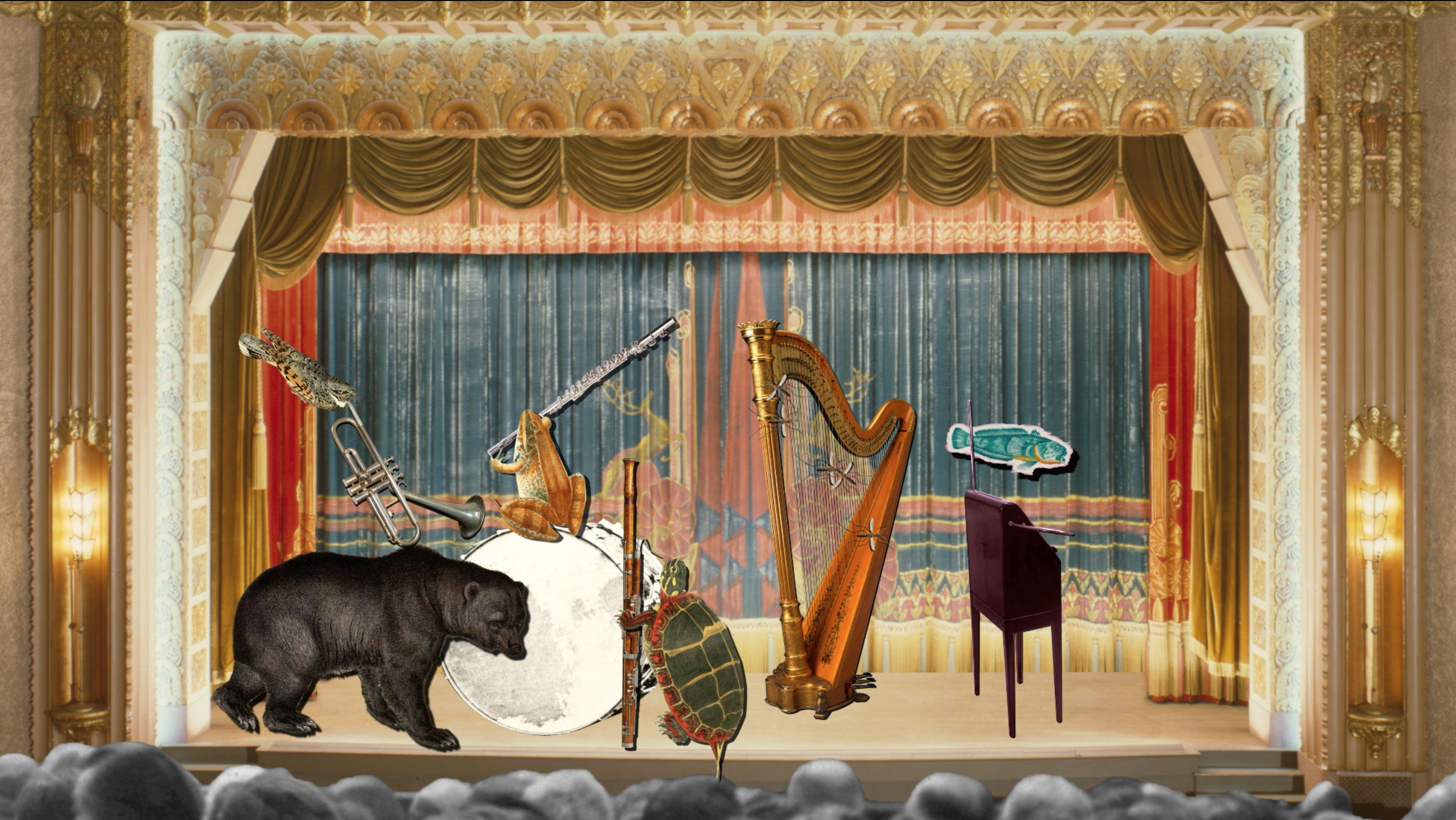 What if hibernating animals formed an orchestra and performed a symphony about their winter's sleep?