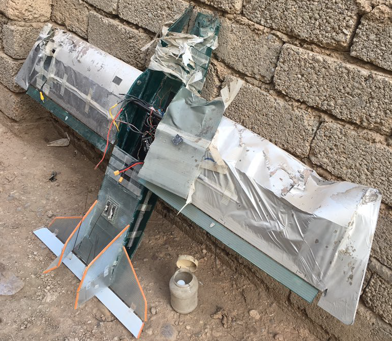 ISIS Drone Spotted In Mosul