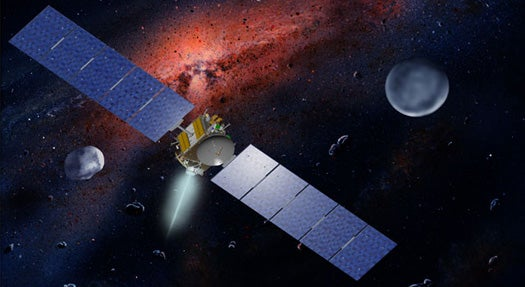 NASA's Dawn Spacecraft Sets Record for Acceleration in Space