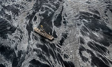 Edward Burtynsky's Fine-Art View of the Gulf Oil Spill