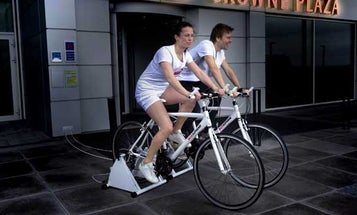 Danish Hotel Pays Its Guests to Generate Electricity on Exercise Bikes