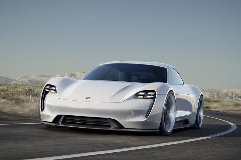 The Porsche Mission E Might Be A Concept Car, But Its 800-Volt EV Technology Is Real