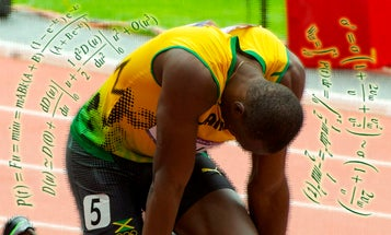 The Physics Of Usain Bolt's Record-Breaking Sprint