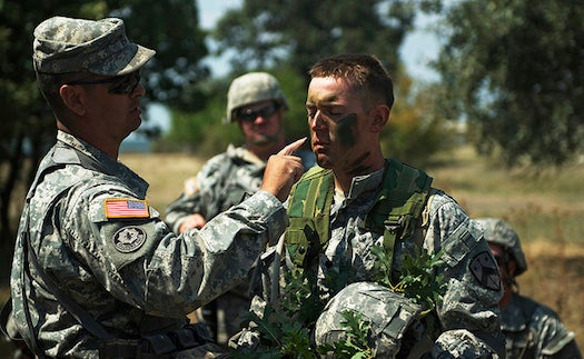 New Camouflage Face Paint Could Shield Soldiers From Bomb Blasts' Heat